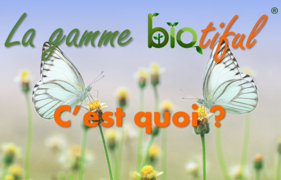 Gamme d'extraits bio : biotiful®
